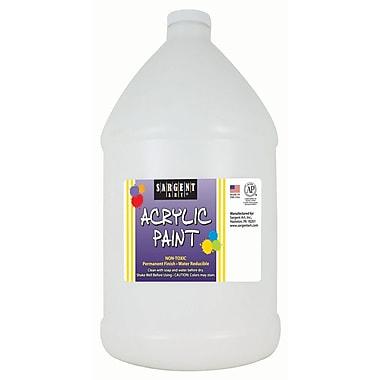 Sargent Art Non-Toxic 64 oz. Acrylic Paint, White (SAR222796)