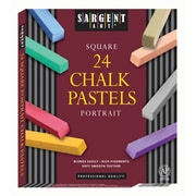Sargent Art Sar224126 Assorted Portrait Square Pastel, 24/Pack