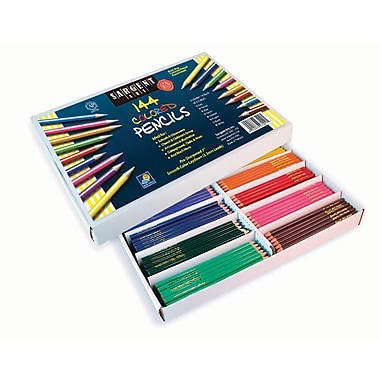 Sargent Art Sar227201 Pre-sharpened Assorted Coloured Pencil, 7