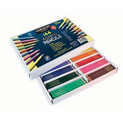 Sargent Art Pre-Sharpened Assorted Colored Pencil, 7