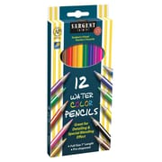 "Sargent Art SAR227204 Pre-Sharpened Assorted Watercolor Pencil, 7"",12/Pack"