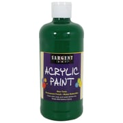 Sargent Art Non-Toxic 16 oz. Acrylic Paint, Green (24-2466)