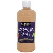 Sargent Art Non-Toxic 16 oz. Acrylic Paint, Peach (24-2487)
