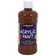 Sargent Art Non-Toxic 16 oz. Acrylic Paint, Brown (24-2488)