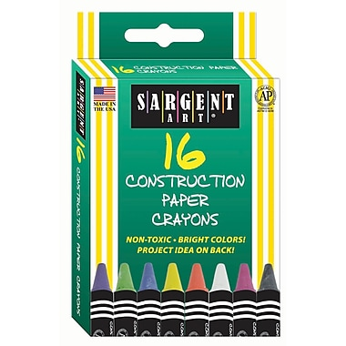 Sargent Art® 16 Piece Construction Paper Crayons