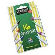 Sargent Art® 16 Piece Tuck Box Crayons