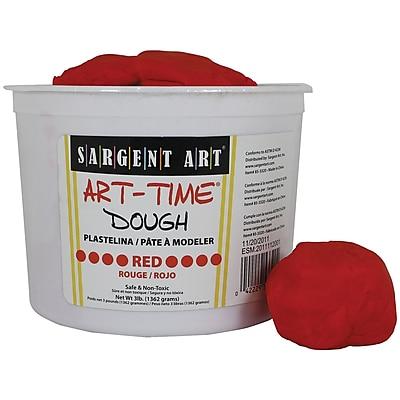 Sargent Art SAR85-3320 3 lbs. Art-Time Dough, Red