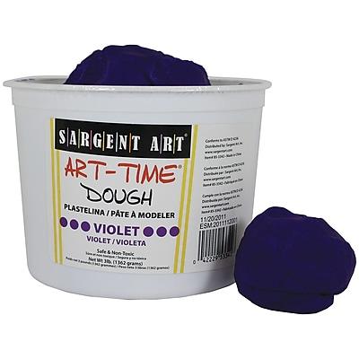 Sargent Art SAR85-3342 3 lbs. Art-Time Dough, Violet