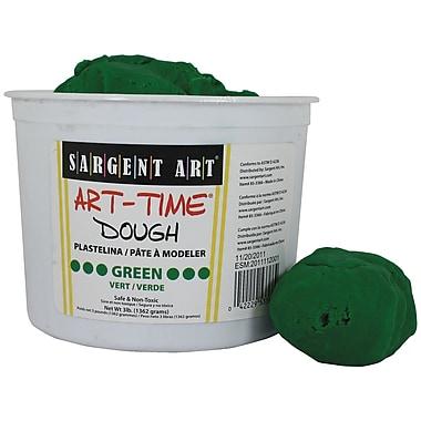 Sargent Art – Pâte Art-Time Sar85-3366, 3 lb, vert (SAR853366)