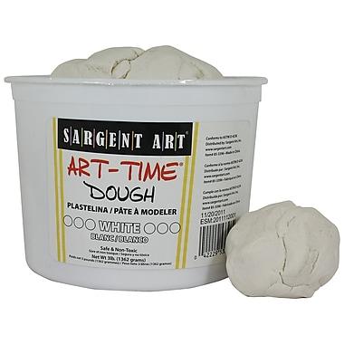 Sargent Art – Pâte Art-Time Sar85-3396, 3 lb, blanc (SAR853396)