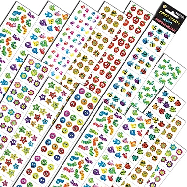 Silver Lead-Sandy Lion Jumbo Variety Assortment Q Sticker (SLSTEPJVQ)