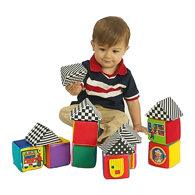 Small World Toys – Blocs Baby Knock-Knock, 16/paquet (SWT7068300)