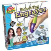Small World Toys – Jouets créatifs Etch-A-Tag Engraver (SWT9725478)