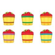 """TREND T-10855 3"""" DieCut Apple Baskets Mini Accents, Multicolor"""