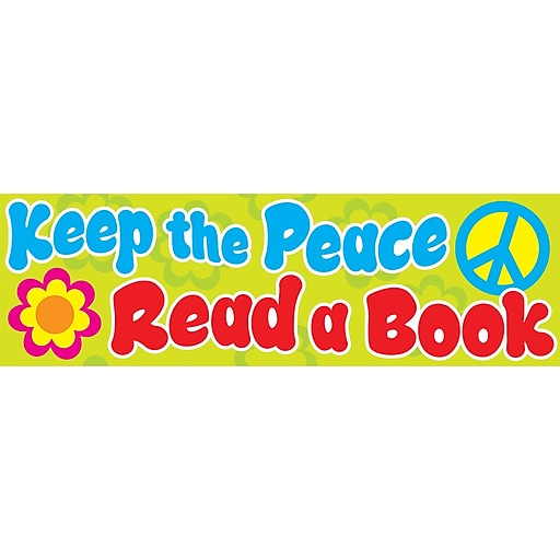 Trend Keep the Peace Bookmarks, 36 CT (T-12105)