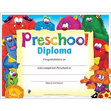 Trend Enterprises® Preschool Diploma Certificate
