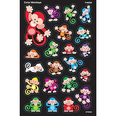 Trend Enterprises® Color Monkeys Supershapes Large Sticker