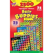 Trend Enterprises® Best Buddies Collection Superspots Sticker Variety Pack