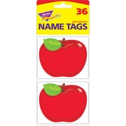 "Trend Enterprises® Name Tags, 2 1/2"" x 3"", Shiny Red Apple"