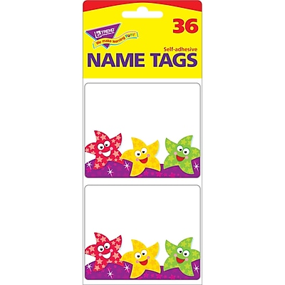 Trend® Dancing Stars Name Tags, 36/Pkg