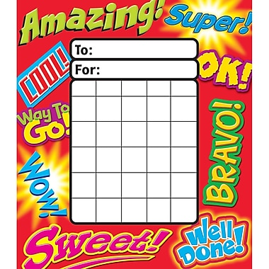 Trend® Inspiring Words Incentive Pad