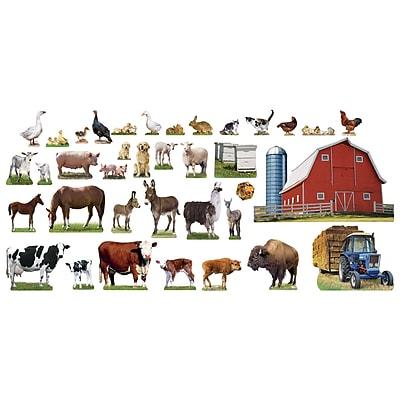 Trend® Animals On The Farm Bulletin Board Set