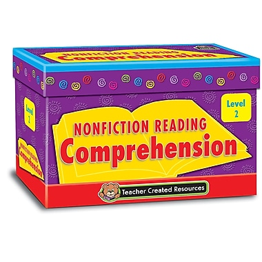 Teacher Created Resources Nonfiction Reading Comprehension Cards Level 2 (TCR2552)