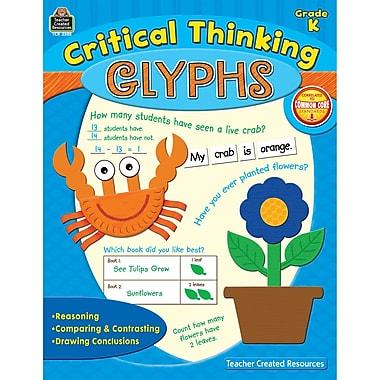 Teacher Created Resources Critical Thinking Glyphs Book, Grades K