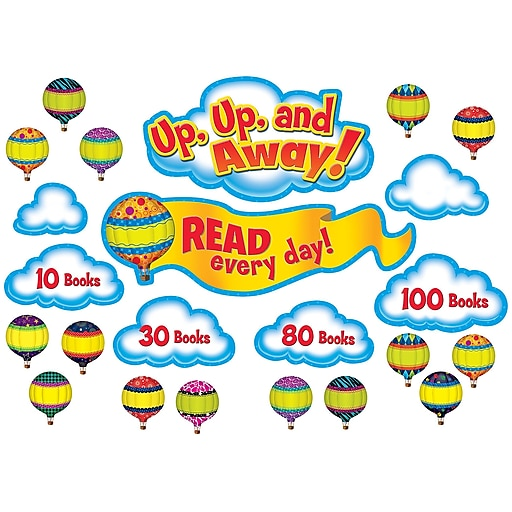 Teacher Created Resources® Read Every Day Bulletin Board Set