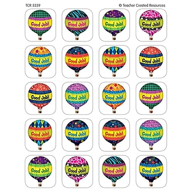 Teacher Created Resources Hot Air Balloons Sticker