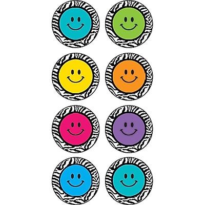 Teacher Created Resources® Zebra Happy Faces Mini Stickers