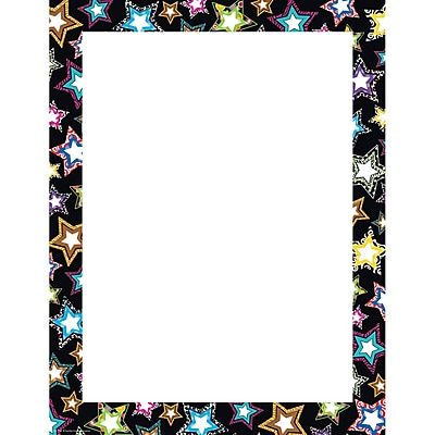 Teacher Created Resources® Fancy Stars Blank Chart, Classroom Management