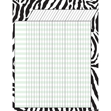 Teacher Created Resources Zebra Incentive Chart