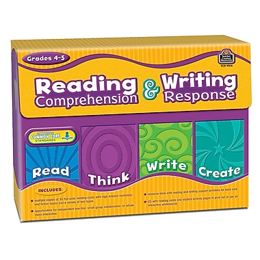 Teacher Created Resources Reading... Response Grade 4-5 Cards, Language Arts/Reading (TCR9016)