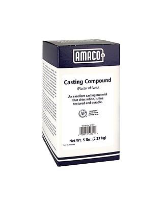 Amaco AMA52761T White Plaster of Paris Casting Compound