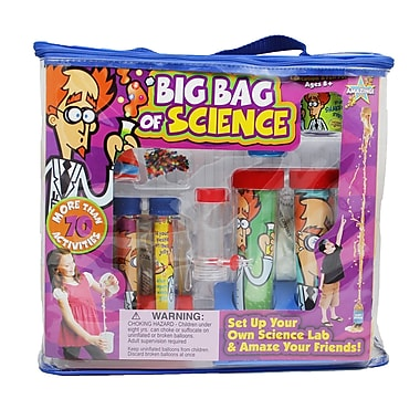 Be Amazing Toys Big Bag Of Science Activity Kit, Grades 2 - 7