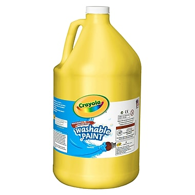 Crayola® Artista Ii® 128 Oz. Washable Paint, Yellow