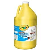 Crayola - Peinture lavable Artista Ii, 128 oz, jaune