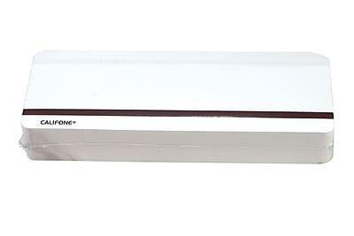 Califone® Single Sided Blank Magnetic Card
