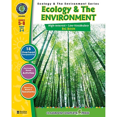 Classroom Complete Press Ecology & The Environment Series Ecology & The Environment Big Book, Grade 5 - 8 (CCP4503)