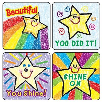 Carson-Dellosa Dazzle™ Stickers, Stars