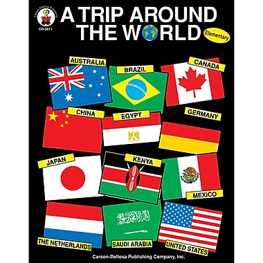 Carson-Dellosa A Trip Around the World Resource Book (CD-0811)