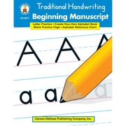 "Carson Dellosa® ""Traditional Handwriting: Beginning Manuscript"" Resource Book, Language Arts"