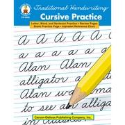 """Carson Dellosa® """"Traditional Handwriting: Cursive Pr..."""" Grade 2nd-5th Resource Book, Language Arts"""