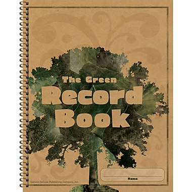Carson Dellosa The Green Record Book, Grades Prek - 8, 2/Pack (CD-104301)