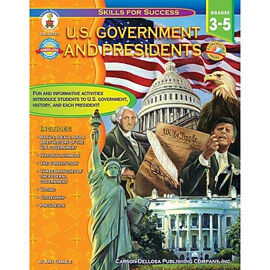 Carson Dellosa Skills For Success Series U.S. Government And Presidents Resource Book (CD-104323)