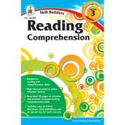 """Carson Dellosa® """"Skill Builders: Reading Comprehension"""" Grade 3 Workbook, Reading"""