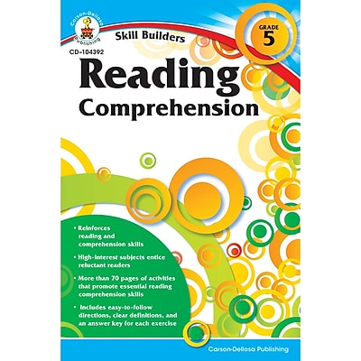 Carson-Dellosa Skill Builders, Reading Comprehension Grade 5