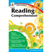 "Carson Dellosa® ""Skill Builders: Reading Comprehension"" Grade 6 Workbook, Reading"