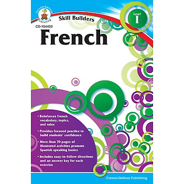 Carson Dellosa® French I Resource Book, Grades K - 5